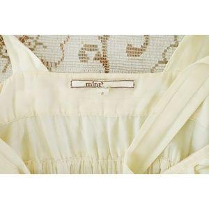 Anthropologie Dresses - Mint Anthro Cream Ivory Cotton Sun Dress sz 2